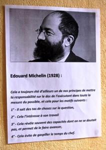 Parmi les citations inspirantes dans le bureau de Benoît Chéhère...